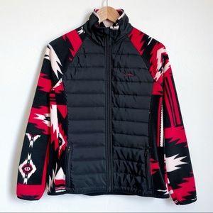 Ralph Lauren Active Tribal Fleece Puffer Jacket